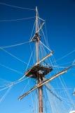 Gammalt seglingskepp Royaltyfria Bilder