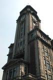 gammalt shanghai för klocka torn Arkivbild