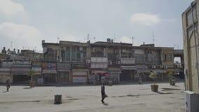 Gammalt shoppar av Isfahan stängde sig arkivfilmer