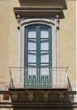 Gammalt siclian fönster Royaltyfri Bild