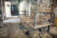 gammalt sjukhus Arkivbild