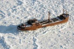 gammalt skeppsbrott Royaltyfri Fotografi
