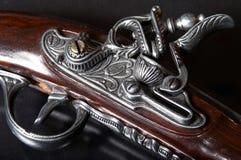 gammalt skjutvapen royaltyfri fotografi