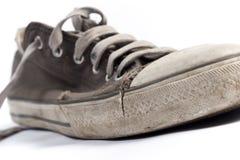 Gammalt sko Fotografering för Bildbyråer