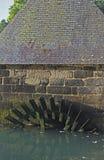 gammalt skovelhjul Royaltyfri Bild