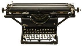 gammalt skrivande för maskin Royaltyfri Fotografi