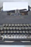 gammalt skrivande för maskin Royaltyfri Bild