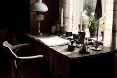 gammalt skrivbord Royaltyfri Fotografi