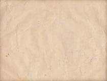 Gammalt skrynkligt grungepapper som textureras Fotografering för Bildbyråer