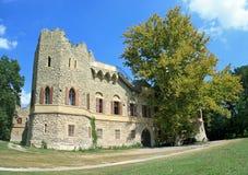 gammalt slott Arkivfoton