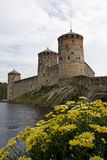 gammalt slott Royaltyfri Bild