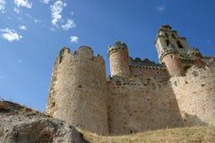 gammalt slott Royaltyfri Fotografi