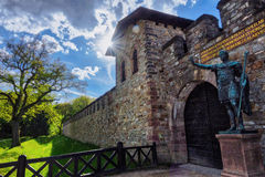 gammalt slott Royaltyfria Foton