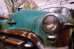 gammalt-smobile Royaltyfri Fotografi