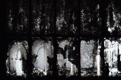 Gammalt smutsigt glass tak Arkivbilder