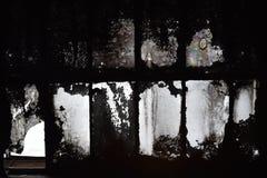 Gammalt smutsigt glass tak Arkivfoton