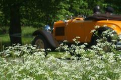 gammalt sportscar Royaltyfria Foton