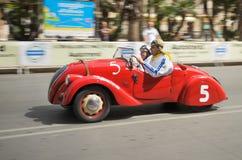 Gammalt springa för bil Royaltyfria Foton