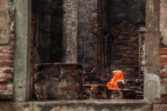 Gammalt ställe i Thailand Fotografering för Bildbyråer