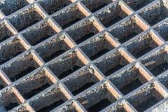 Gammalt stål för textur Royaltyfri Fotografi