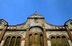 gammalt stads- för slott Arkivbild