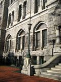 gammalt stadshus Fotografering för Bildbyråer