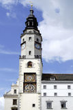 Gammalt stadshus av Goerlitz i Tyskland Royaltyfri Fotografi