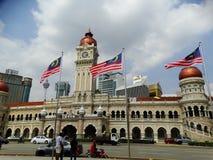 Gammalt stadshus av Kuala Lumpur, Malaysia Royaltyfria Foton