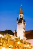 Gammalt stadshus av Munich Arkivfoton