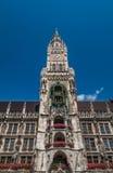Gammalt stadshus av Munich Royaltyfria Foton