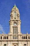 Gammalt stadshus av Porto, Portugal Arkivbild