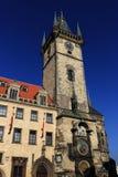 Gammalt stadshus, historiska byggnader, den Prague slotten, Tjeckien Arkivfoton