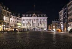 Gammalt stadshus i Bonn Arkivfoton