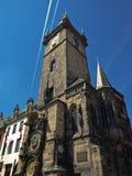 Gammalt stadshus i Prague Royaltyfria Bilder