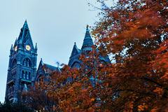 Gammalt stadshus i Richmond Fotografering för Bildbyråer