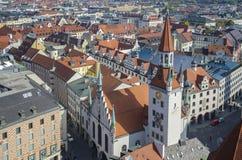 Gammalt stadshus, Munich Royaltyfria Bilder