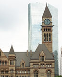 Gammalt stadshus, Toronto royaltyfria foton
