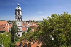 Gammalt stadstorn i Meissen Royaltyfri Fotografi