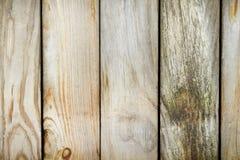 Gammalt staket som göras ââof red ut bräden Royaltyfria Bilder
