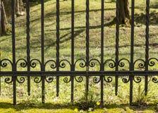 gammalt staketjärn royaltyfri foto