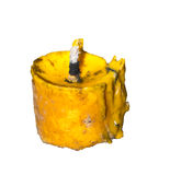gammalt stearinljus Royaltyfri Bild