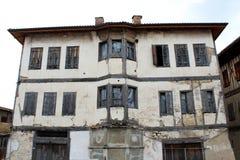 Gammalt stenhus i Safranbolu, Turkiet Fotografering för Bildbyråer