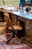 gammalt stolskontor Arkivbild