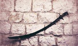 gammalt svärd Royaltyfria Bilder