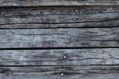 Gammalt svart trä Arkivbild