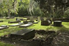 gammalt sydligt för kyrkogård arkivbilder