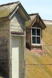 gammalt tak Arkivfoto