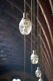 gammalt tak för lampor arkivfoton