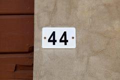 Gammalt tappninghus nummer 44 Royaltyfri Bild