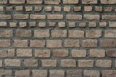 Gammalt tegelstenar och cement, väggtextur Royaltyfria Foton